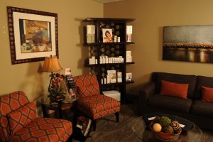 Dr. Windle's Plastic Surgery Office Reception Area